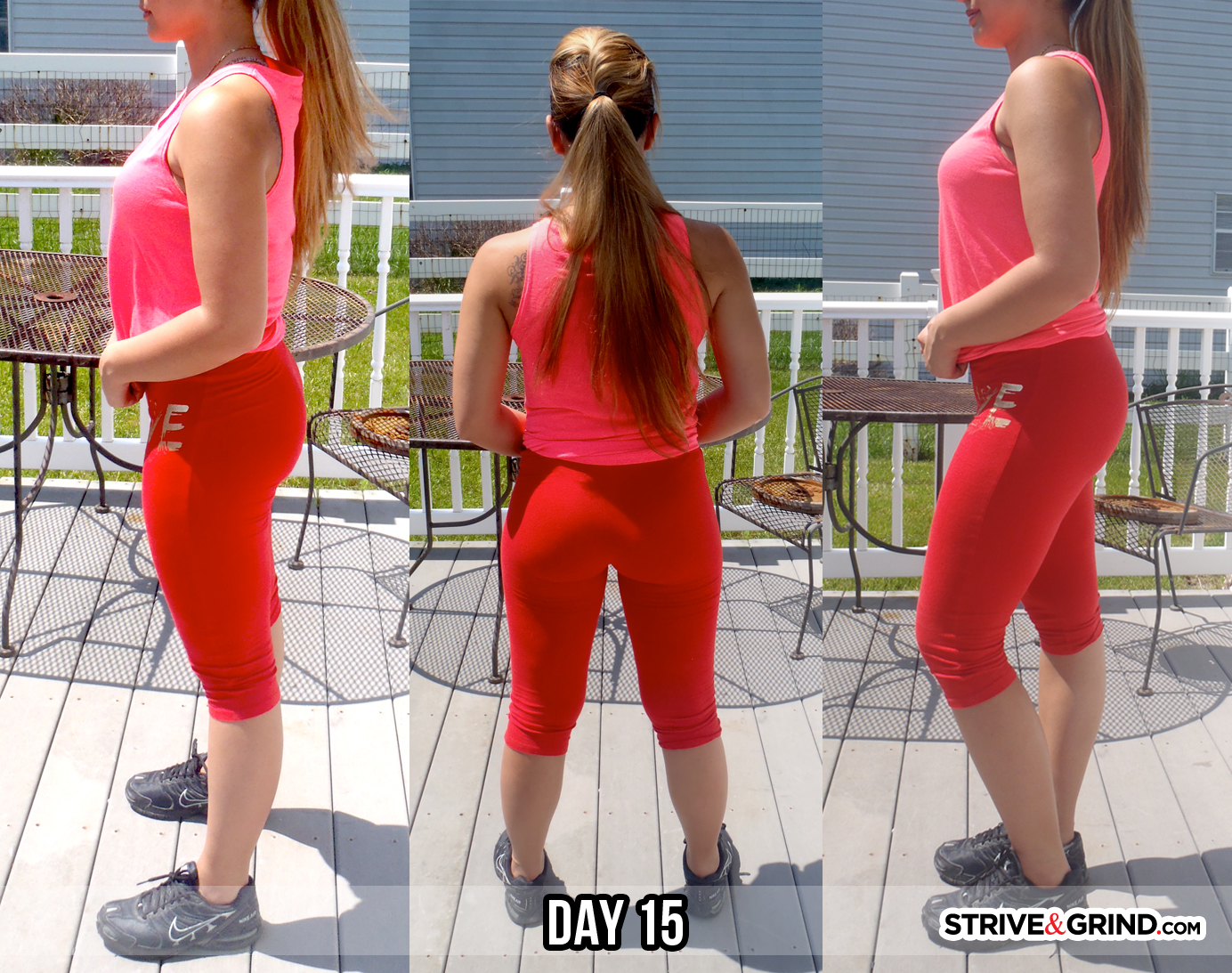 after 30 day squat challenge day 15